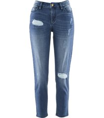 jeans girlfriend 7/8 maite kelly (blu) - bpc bonprix collection