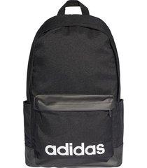 maleta negra adidas lin clas bp xl dt8638  envio gratis*