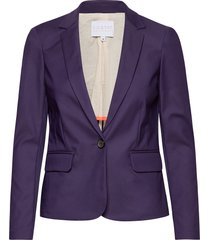 suit jacket blazer kavaj lila coster copenhagen