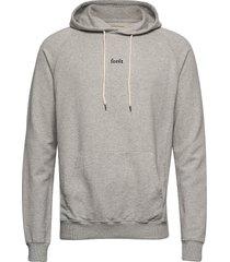 bison hoodie hoodie trui grijs forét