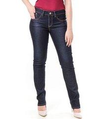 calça bloom jeans cigarrete skinny feminina