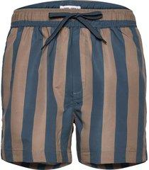 mason swim shorts aop 13082 badshorts blå samsøe samsøe