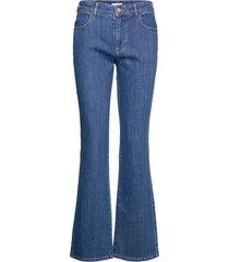 trousers jeans utsvängda blå see by chloé