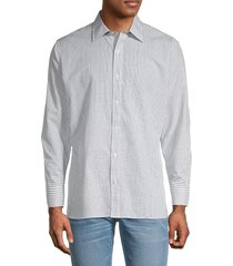 bonobos men's tailored-fit checkered shirt - blue - size 17 33