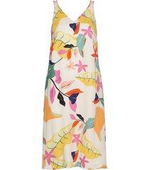 dresses light woven knälång klänning multi/mönstrad esprit collection