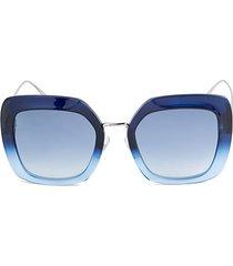 53mm oversized square sunglasses