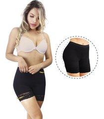faja panty moldeador invisible uso diario ,levanta cola-control abdomen -color negro