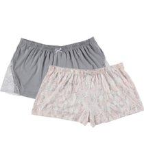 flora women's natalia 2-pk pajama short