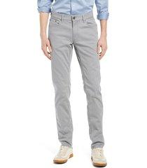 men's brax chuck hi-flex 5-pocket pants, size 42 x 34 - grey
