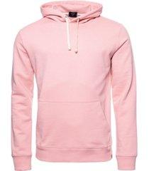 superdry men's organic cotton standard label loopback hoodie
