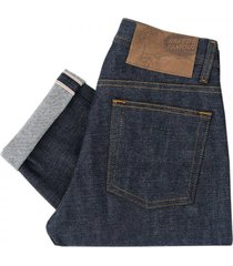naked and famous weird guy red selvage indigo denim jeans 018533