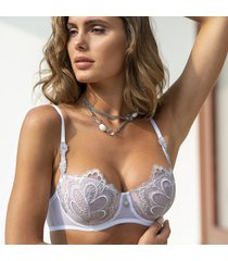 ambra lingerie bh's grand arches balconette bh wit 0322