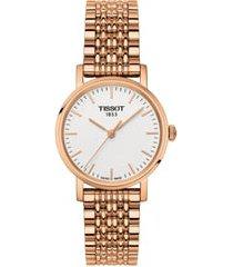 women's tissot everytime bracelet watch, 30mm