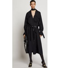 proenza schouler oversized parachute suiting coat black 6