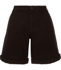 nº21 flared shorts - black