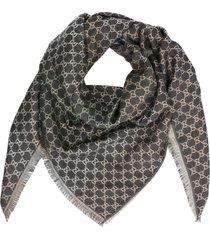 gucci gg shiny scarf
