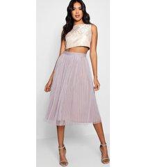 boutique jacquard top midi skirt co-ord set, multi