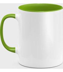 kolorowy kubek (bez nadruku, gładki) - zielony