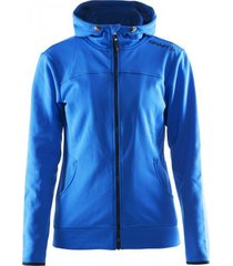 craft jas leisure full zip hood women sweden blue