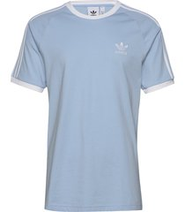 3-stripes tee t-shirts short-sleeved blå adidas originals