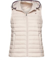 th essential lw dwn vests padded vests wit tommy hilfiger