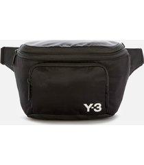 y-3 men's expandable backpack - black