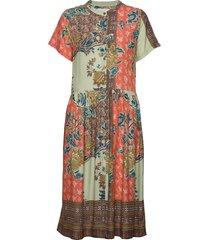 aliya dress knälång klänning multi/mönstrad lollys laundry