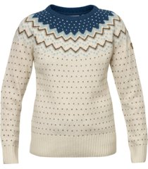 fjallraven ovik patterned wool active sweater
