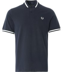 fred perry single tip polo shirt | navy |  m2-797