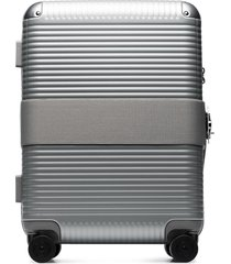 fpm milano bank spinner suitcase - silver