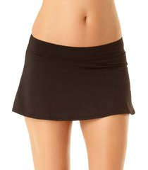 anne cole classic swim skirt women's swimsuit