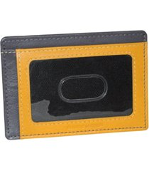 dopp tribeca rfid front pocket get-away wallet