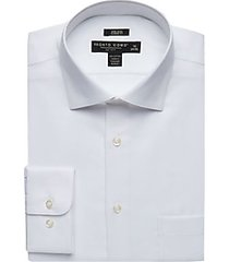 pronto uomo white queens oxford classic fit dress shirt