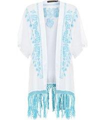 kimono four seasons prayah - off white