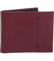 billetera bonetti rojo bosi