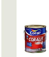esmalte sintético brilhante coralit gelo 3,6l - coral - coral