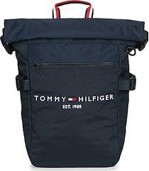 rugzak tommy hilfiger th established rolltop backpack