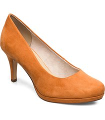 woms court shoe shoes heels pumps classic brun tamaris