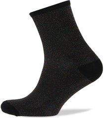 dina solid lingerie hosiery socks svart becksöndergaard