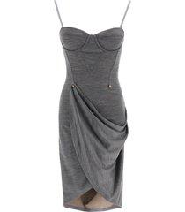 burberry tiegan draped dress