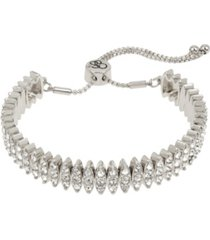 "jessica simpson stone friendship bracelet, 10.5"" adjustable"