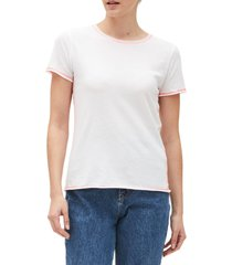 women's michael stars colleen classic t-shirt, size x-small - white