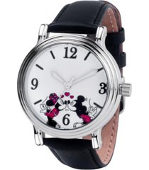disney mickey and minnie women's vintage alloy watch 38mm