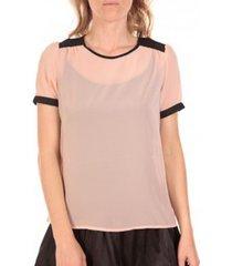 blouse vero moda top norma rose poudre