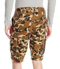 levi's men's harvest gold duck camo twill cargo shorts trunks 232510000