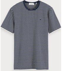 scotch & soda klassiek gestreept t-shirt
