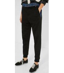 hybrid jean trousers - black - xl