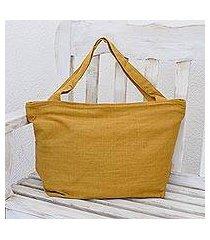 cotton tote handbag, 'guatemala warmth' (guatemala)