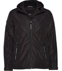 surplus goods hiker jacket tunn jacka svart superdry