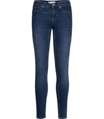 bonnie low waist jeans skinny jeans blå gina tricot
